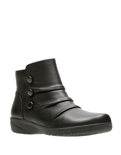 Clarks Cheyn Anne Ankle Boots-BLACK-5