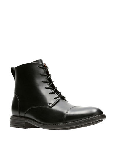 Clarks Truxton High Ankle Boots-BLACK-13