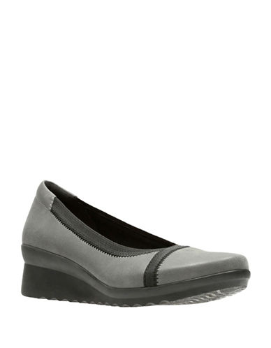 Cloudsteppers By Clarks Caddell Dash Flats-GREY-9