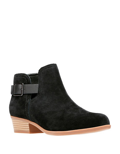 Clarks Addiy Carisa Booties-BLACK-6.5