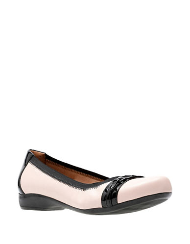 Clarks Kinzie Light Flats-PINK-5.5