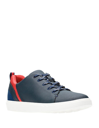 Cloudsteppers By Clarks Ortholite Lace up Shoes-NAVY-6