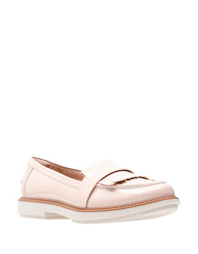 Clarks Raisie Theresa Loafers-DUSTY PINK-8.5