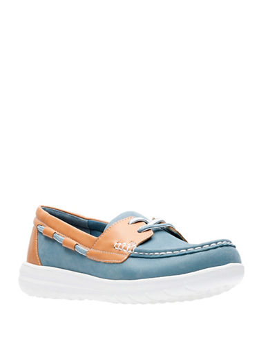 Cloudsteppers By Clarks Jocolinvista Loafers-BLUE-6.5