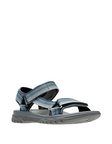 1849c94f6f7c CLARKS Balta Reef Footbed Sandals-Grey