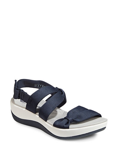 Cloudsteppers By Clarks Arla Mae Sandals-BLUE-9.5