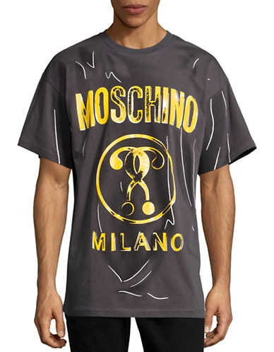 Moschino Shadow T-Shirt-BLACK-EU 48/Medium 88578130_BLACK_EU 48/Medium
