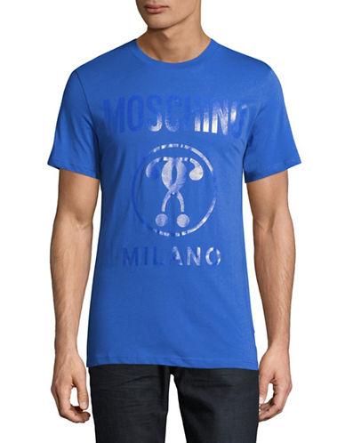 Moschino Question Mark T-Shirt-BLUE-Medium 88890757_BLUE_Medium