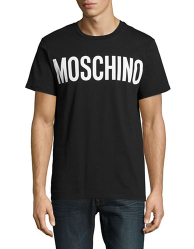 Moschino Logo T-Shirt-BLACK-Small 88890747_BLACK_Small