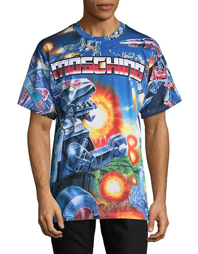 Moschino Transformers T-Shirt-MULTI-EU 48/Medium