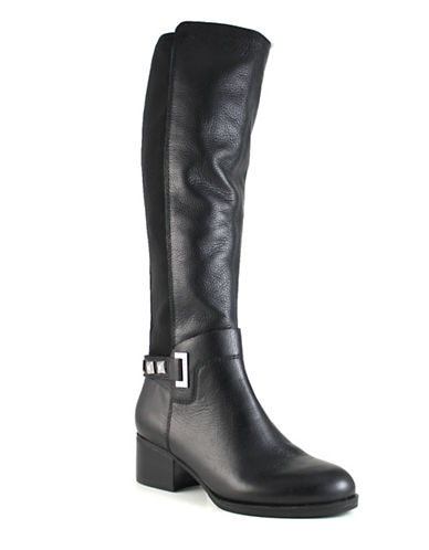 Guess Luisa Studded Tall Boots-BLACK-9.5