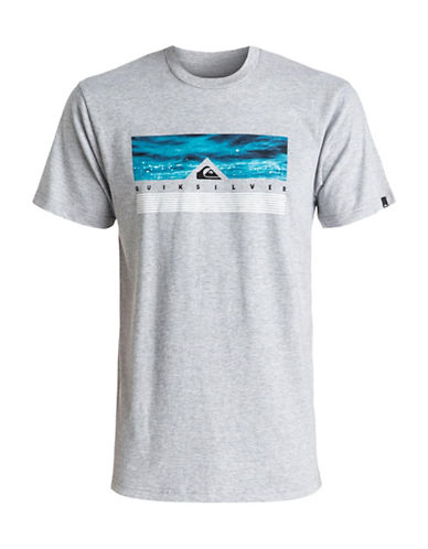 Quiksilver Jungle Box T-shirt-GREY-X-Large 89058454_GREY_X-Large