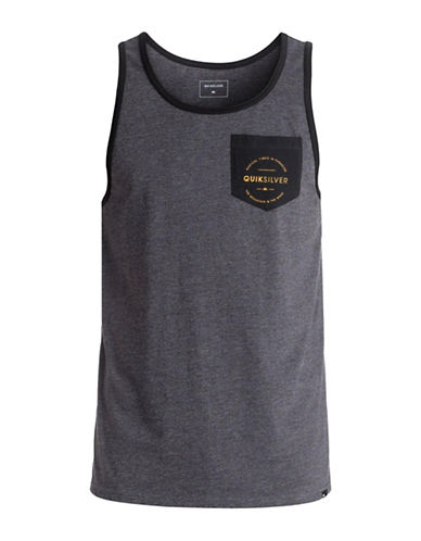 Quiksilver Fester Tank Top-GREY-Medium 89058474_GREY_Medium