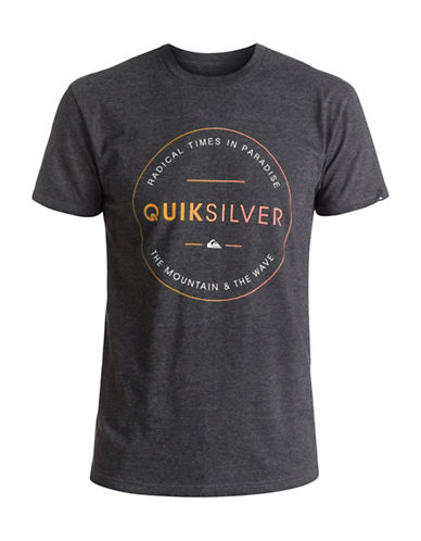 Quiksilver Free Zone T-Shirt-GREY-X-Large 89058457_GREY_X-Large