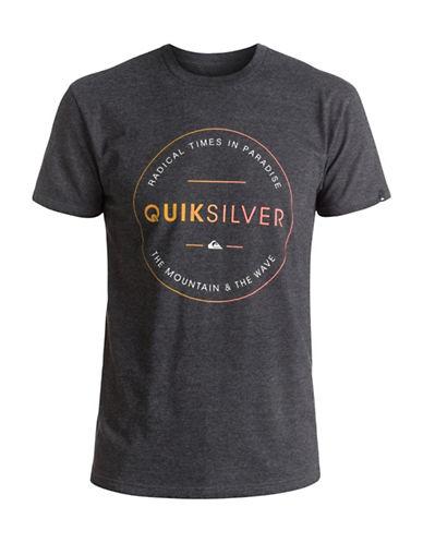 Quiksilver Free Zone T-Shirt-GREY-Medium 89058459_GREY_Medium
