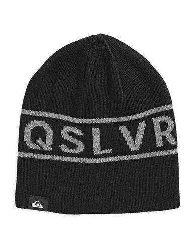 Quiksilver Knox Graphic Beanie-BLACK-One Size