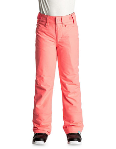 Roxy Vibrant Pants-PINK-Large