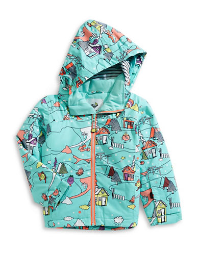 Roxy Mini Jetty Snow Jacket-BLUE-2