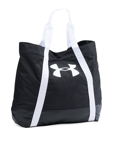 Under Armour Favorite Logo Tote Bag-BLACK-One Size 88776824_BLACK_One Size