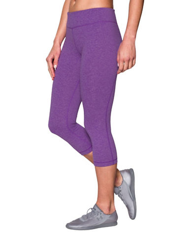 Under Armour Moisture-Wicking Active Capris-PINK-X-Large 88401862_PINK_X-Large