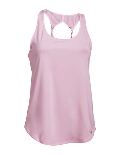 Under Armour Fly-By 2 Tank Top-PINK-Large 88339671_PINK_Large