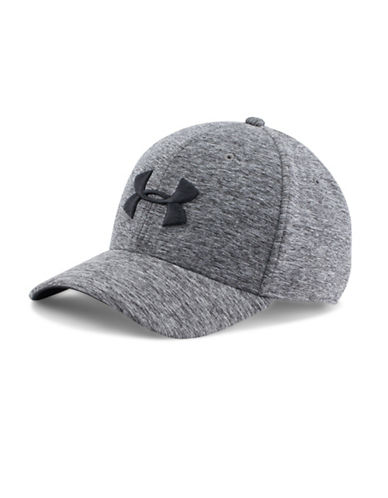 Under Armour Twist Tech Closer Baseball Cap-BLACK-Large/X-Large