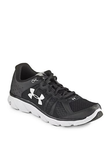 Under Armour Micro G Assert 6 Running Shoes-BLACK-9.5