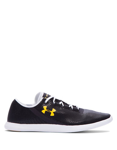 Under Armour Womens StudioLux Low Fresh Sneakers-BLACK-10