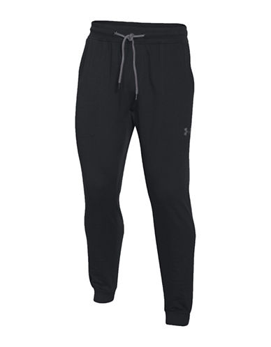 Under Armour Baseline Fleece Jogger Pants-BLACK-Medium 88641849_BLACK_Medium