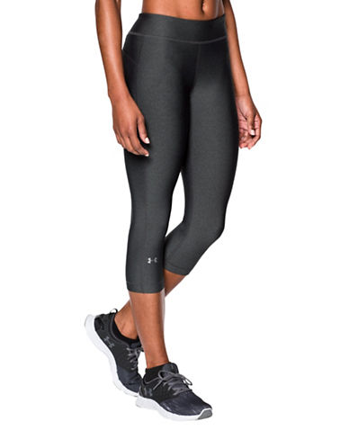 Under Armour HeatGear Armour Capris-GREY-X-Large 88485538_GREY_X-Large