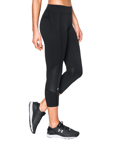 Under Armour HeatGear Armour Print Cropped Leggings-BLACK-Large 88703962_BLACK_Large