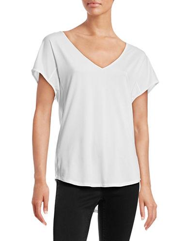 Under Armour V-Neck Short Sleeve T-Shirt-WHITE-X-Large 88413202_WHITE_X-Large