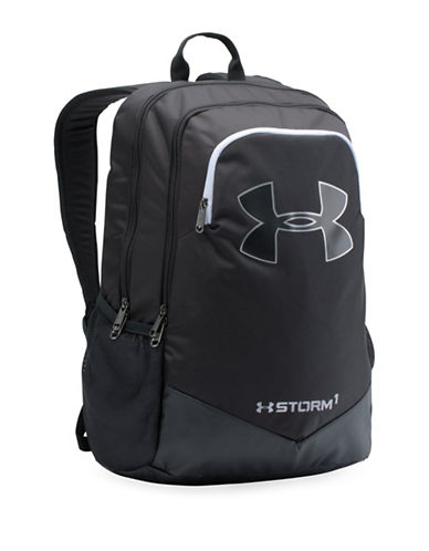 Under Armour UA Favourite Water-Resistant Backpack-BLACK-One Size 89229204_BLACK_One Size