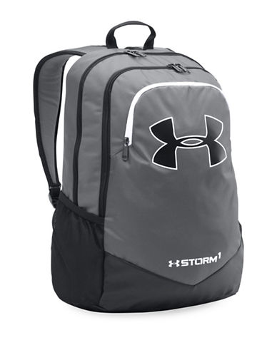 Under Armour Scrimmage Backpack-GREY-One Size