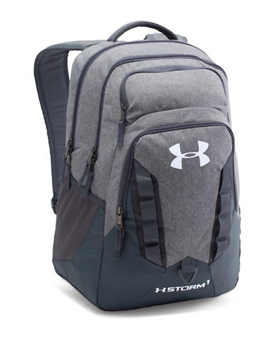 Under Armour UA Storm Recruit Backpack-GRAPHITE-One Size 88510084_GRAPHITE_One Size