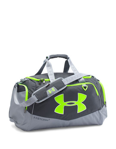 Under Armour Storm Undeniable II Small Duffle Bag-STEEL GREY-One Size 88510097_STEEL GREY_One Size