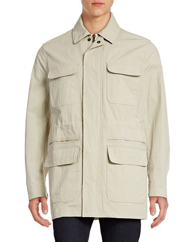 Billy Reid Eddie Field Jacket-BEIGE-Medium