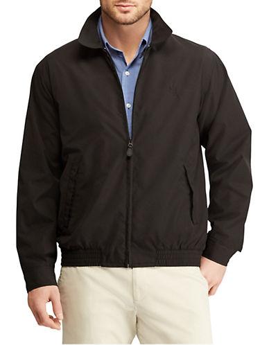 Chaps Full-Zip Microfibre Jacket-BLACK-X-Large 90002140_BLACK_X-Large