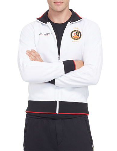 Polo Sport Japan Full-Zip Track Jacket-PURE WHITE-X-Large 87733162_PURE WHITE_X-Large