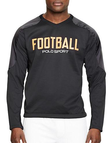 Polo Sport Paneled Microfleece T-Shirt-POLO BLACK-XX-Large 87788243_POLO BLACK_XX-Large