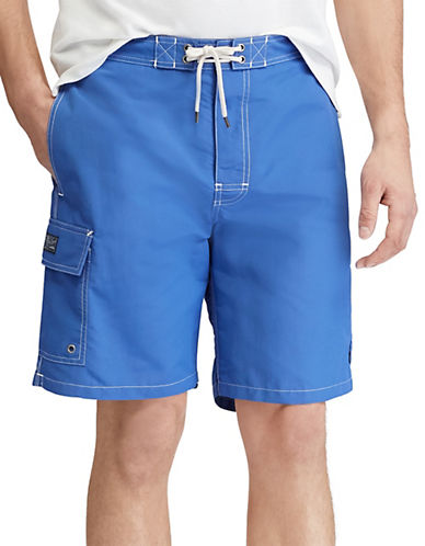Polo Ralph Lauren Kailua Swim Trunk-BRIGHT BLUE-XX-Large
