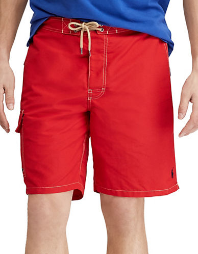 Polo Ralph Lauren Kailua Swim Trunk-RL 2000 RED-Small