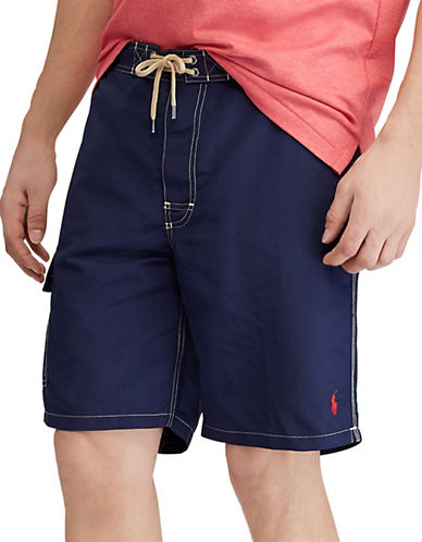 Polo Ralph Lauren Kailua Swim Trunk-NEWPORT NAVY-Small