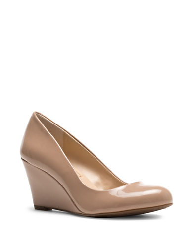Jessica Simpson Sampson Wedge Pumps-NUDE-8