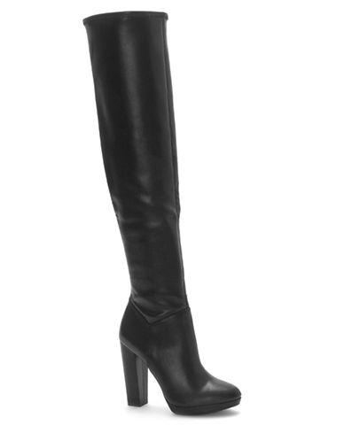 Jessica Simpson Grandie Tall Boots-BLACK-6.5