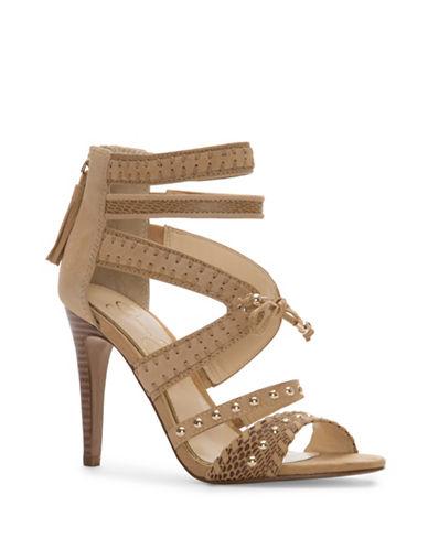 Jessica Simpson Elishia Stud Strap Heels-BEIGE-8.5