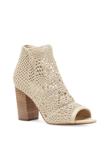 Jessica Simpson Rianne Crochet Booties-CREAM-10