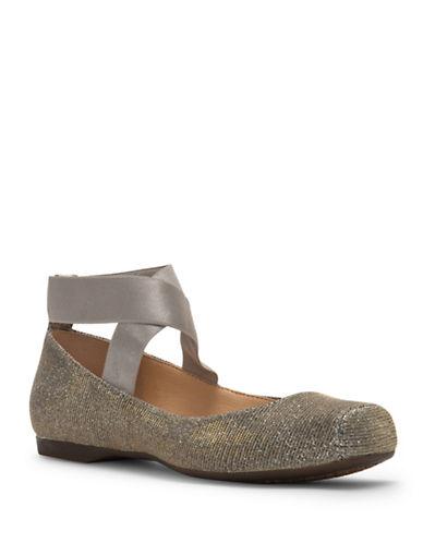 Jessica Simpson Mandalaye Ballet Flats-GOLD-5.5