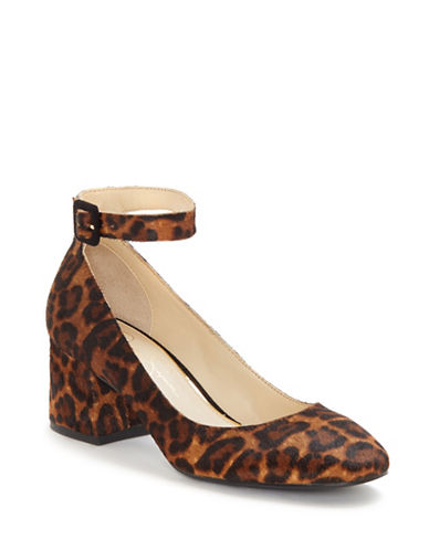Jessica Simpson Mayven Suede Pumps-BROWN-5