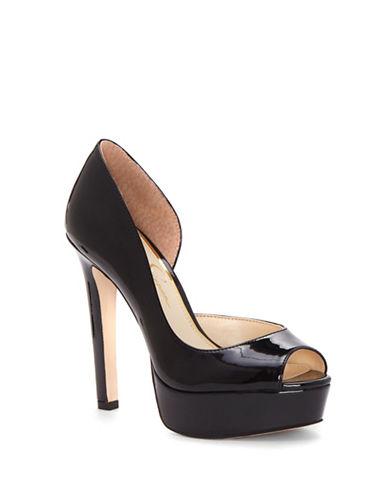 Jessica Simpson Martella Platform Sandals-BLACK-6.5